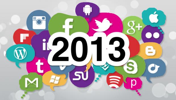 médias sociaux en 2013