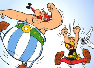asterix sur facebook